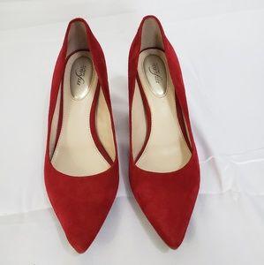 Alfani red heels